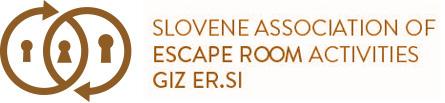 Združenje Escape Room dejavnosti Logo